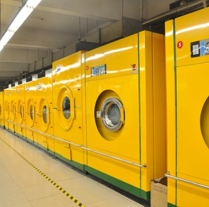 Yellow Washing Machines