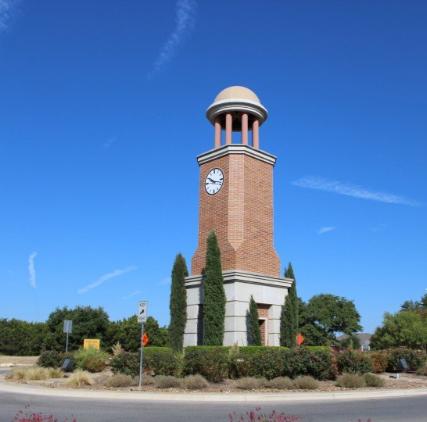 Cedar Park clock